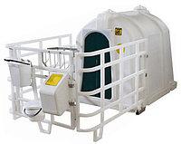 Mini бокс (домик) с полимерным ограждением и навесным оборудованием (БСТ-3П)