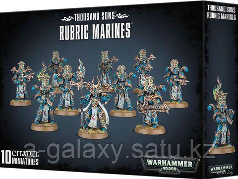 Thousand Sons: Rubric Marines (Тысяча сыновей: Космодесантники-рубрики) - фото 3