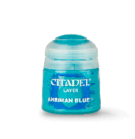 Layer: Ahriman blue (Слой: Синий Ахриман). 12 мл.