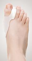 Силиконовый протектор первого пальца стопы размер универсальный №2