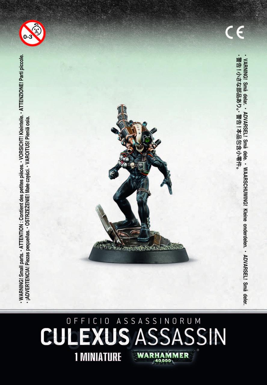 Officio Assassinorum Culexus Assassin (Официо Ассасинорум: Убийца Кулескус) - фото 1