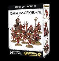 Start collecting! Daemons of Khorne (Начни собирать! Демоны Кхорна)