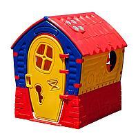 Детский домик Palplay Лилипут желтый, фото 1