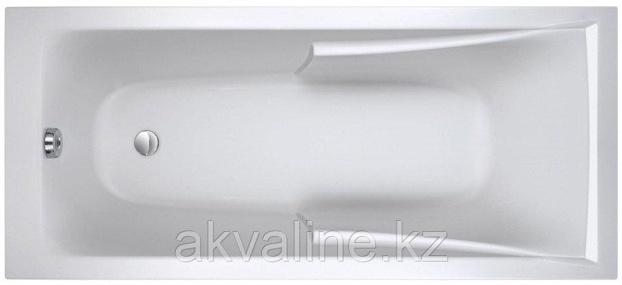 Corvette Ванна (16 x 7 см) с регулируемыми ножками, цвет белый