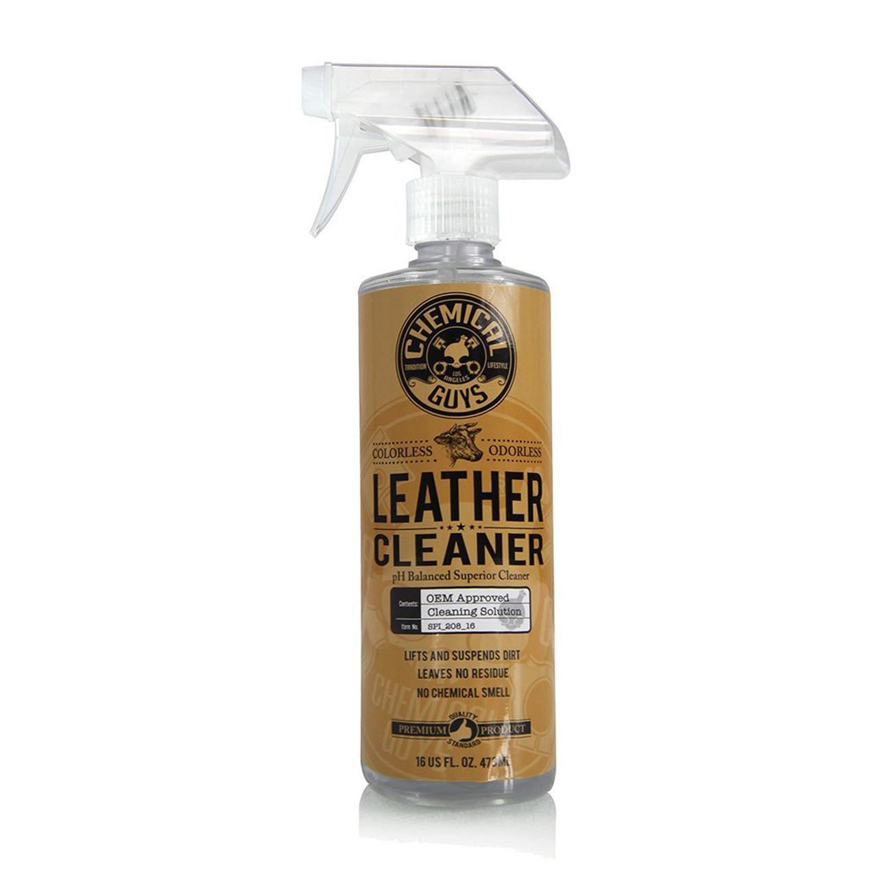 Leather Cleaner - Очиститель для кожи, нейтральный, 118 мл Chemical Guys