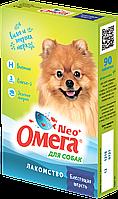 Омега Neo+ Блестящая шерсть для собак 90таб