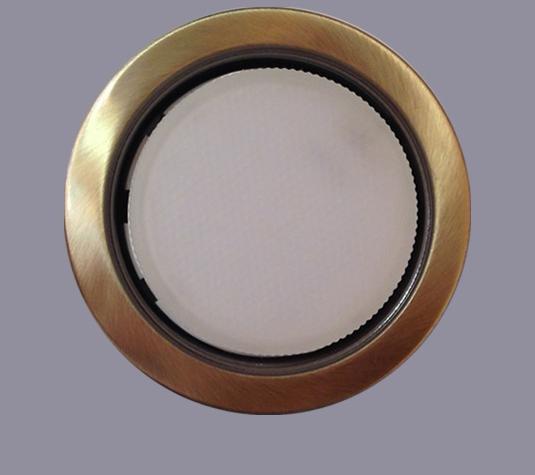Лампа светодиодная(энергосберегающая)  LED Gx53 бронза