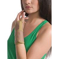 Бандаж на лучезапястный сустав c фиксацией пальца L/XL Медтекстиль