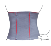 Пояс лечебно-профилактический эластичный Remed L размер