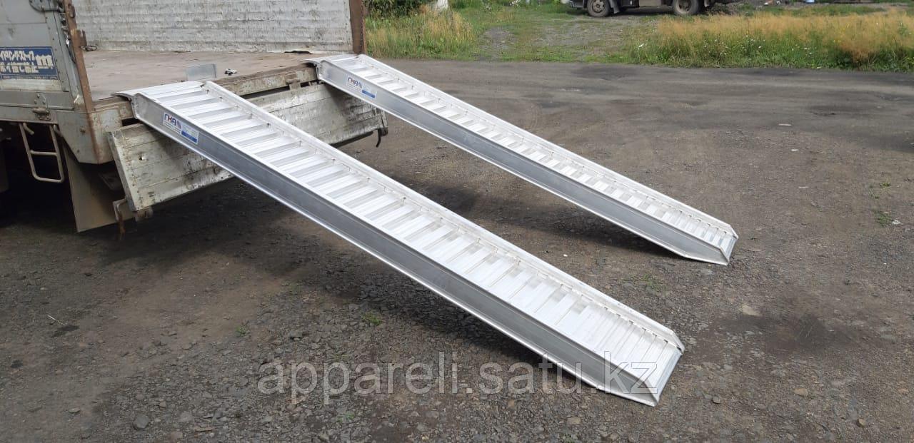 Алюминиевые аппарели 4900 кг, 3,5 метра
