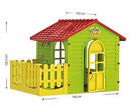 Домик с забором MOСHTOYS 10839