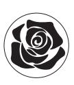 "Штамп для сургуча ""Роза"""