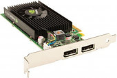 Видеокарта Nvidia NVS 315 (VCNVS315DVIBLK-1) 1GB PCIE DSM59 2DVI-SL 64-bit DDR3 48 Cores LP DSM59 to