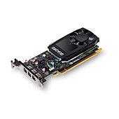 Видеокарта VCQP400BLK-1 Nvidia Quadro P400 2GB DDR5, PCIE, 64-bit 256 Cores, 3*mDP1.4, 3*mDP to DP 1