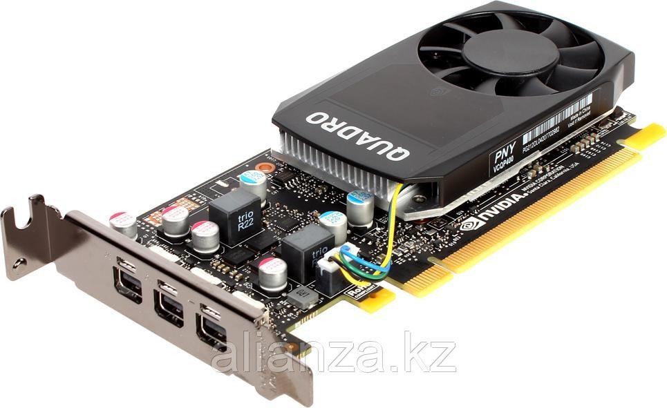 Видеокарта VCQP400DVIBLK-1 PNY Quadro P400 2GB GDDR5 64bit 14nm (HDCP)/Mini DisplayPort*3 to DP adap