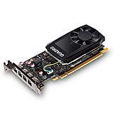 Видеокарта Nvidia Quadro P620DVI 2GB DDR5, PCIE, 128-bit 512 Cores, 4*mDP1.4, 4*mDP to DVI-D SL adap