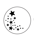 "Штамп для сургуча ""Звёзды"""