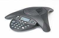 Телефон Polycom 2200-16000-122 Аналоговый конференц-телефон SoundStation2 с дисплеем без возможности