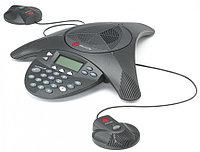 Телефон Polycom 2200-16200-122 Аналоговый конференц-телефон SoundStation2 с дисплеем и возможностью