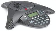 Телефон Polycom 2200-07880-122 Аналоговый конференц-телефон SoundStation2W с дисплеем без возможност