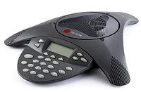 Телефон Polycom 2200-07800-122 Аналоговый конференц-телефон SoundStation2W с дисплеем и возможностью