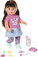 Кукла Сестричка брюнетка Baby born 43 см