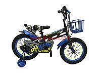 Велосипед Phillips синий алюминиевый сплав оригинал детский с холостым ходом 16 размер
