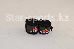Боксерский бинт Adidas 2 штуки 3 метра (цвет черный)