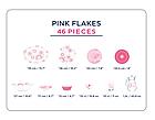 Столовый сервиз Luminarc Simply Pink Flakes 46 предметов на 6 персон, фото 2