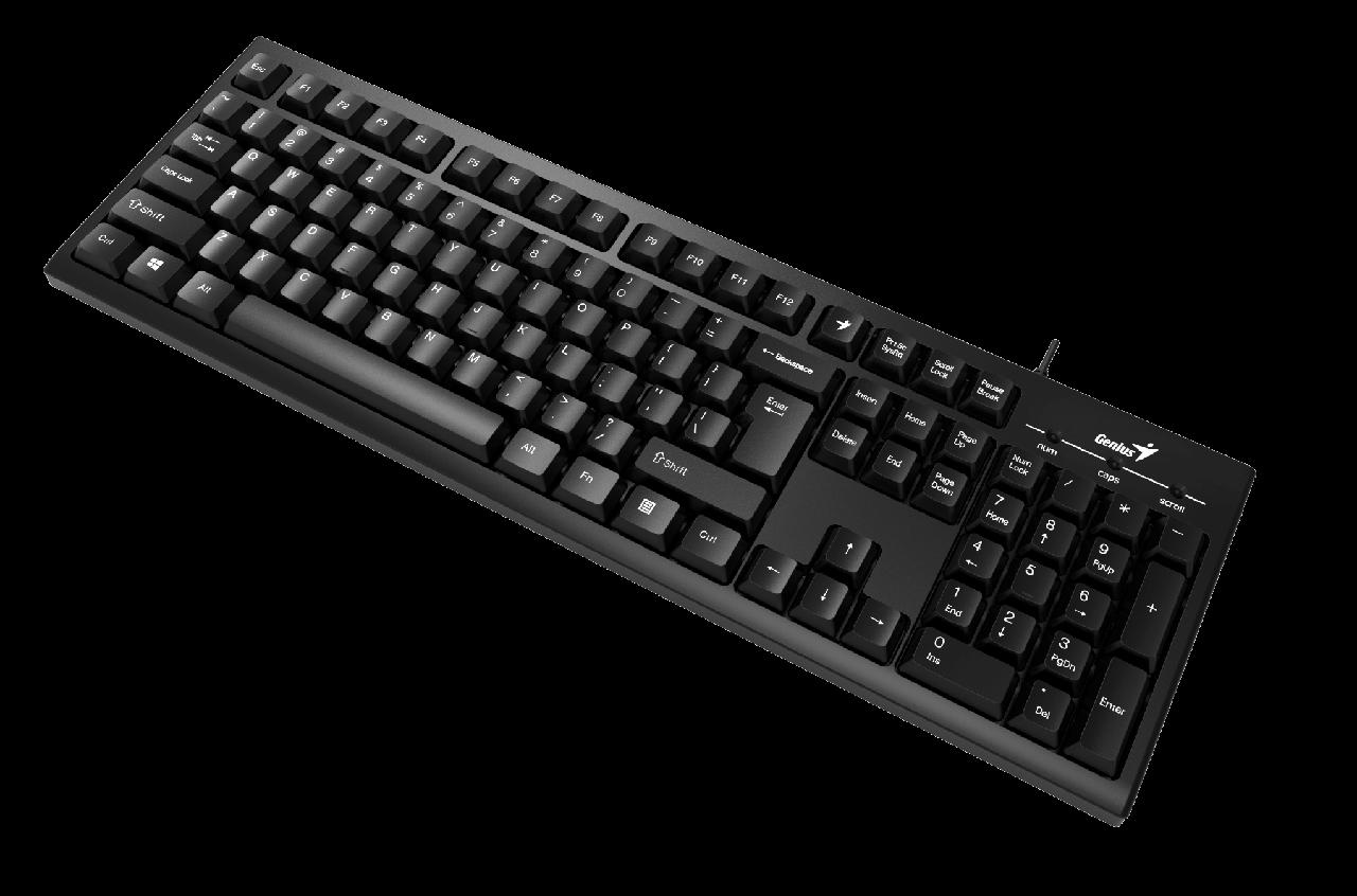 Genius KB-100 Клавиатура Smart USB Black