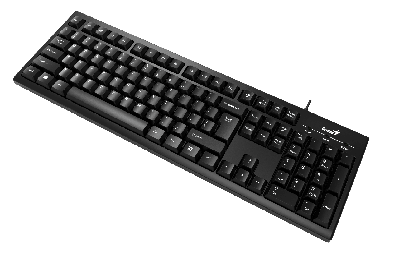 Genius KB-102 Клавиатура Smart USB Black