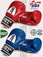 Перчатки боксерские Tiger AIBA GREEN HILL (Красный)