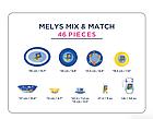 Столовый сервиз Luminarc Melys Mix & Match 46 предметов на 6 персон, фото 2