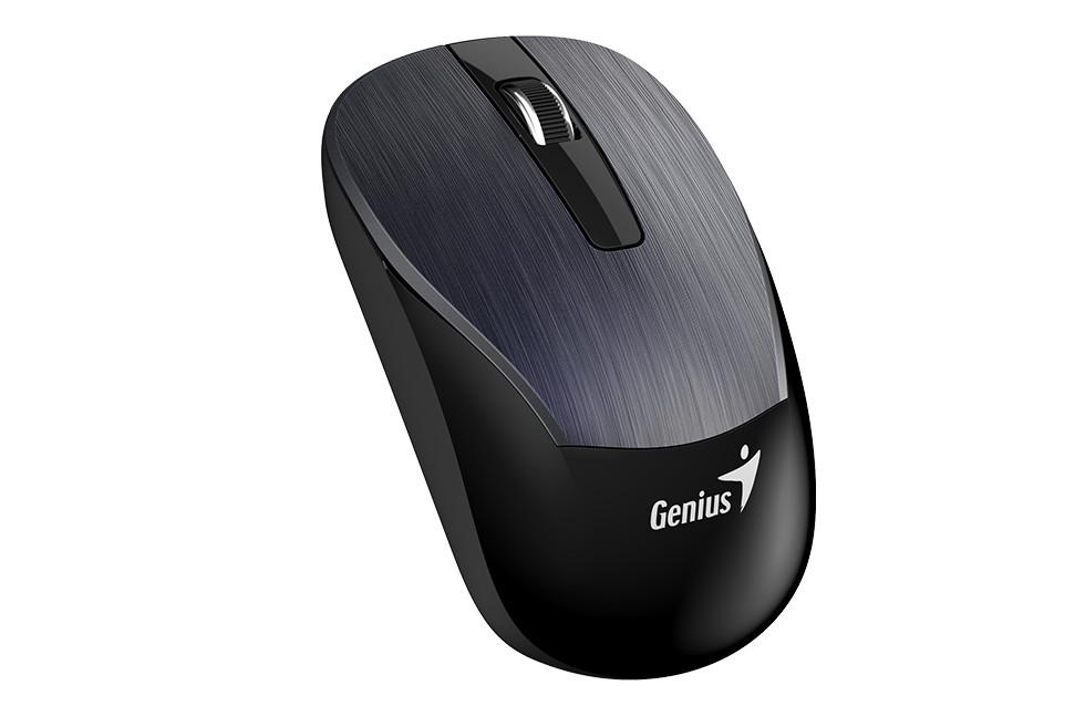 Genius 31030005402 мышь ECO-8015 беспроводная оптическая цвет Iron Gray