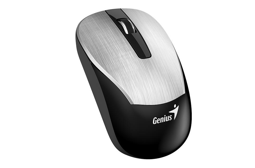 Genius 31030005401 мышь ECO-8015 беспроводная оптическая цвет Silver