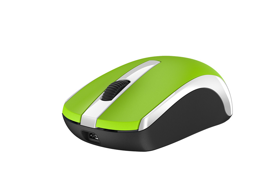 Genius 31030004404 мышь ECO-8100 беспроводная оптическая цвет Green