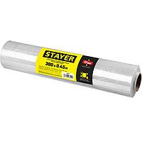 Стрейч-пленка упаковочная 300м х 450мм, 17мкм