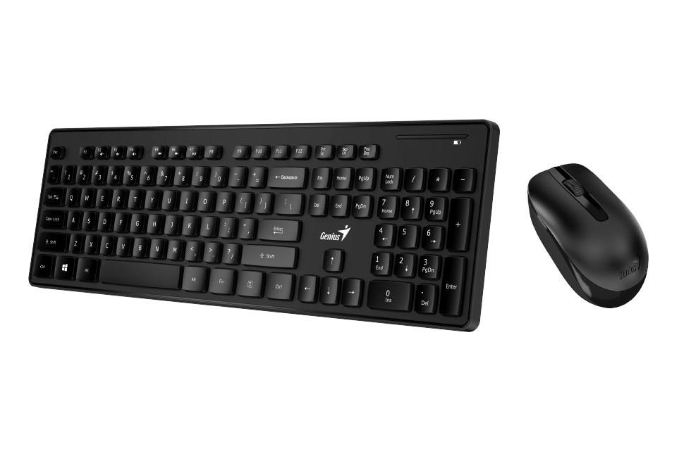 Genius SlimStar 8006 Клавиатура+ мышка беспроводные, Black, RU, CB, 31330219102