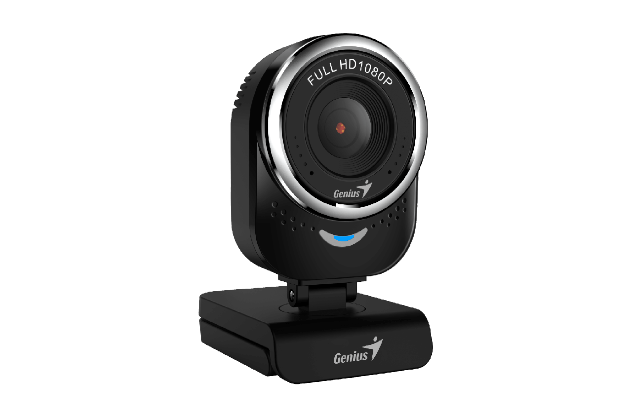 Genius 32200002400 Веб-камера QCam 6000 FULL HD 1080p цвет черный