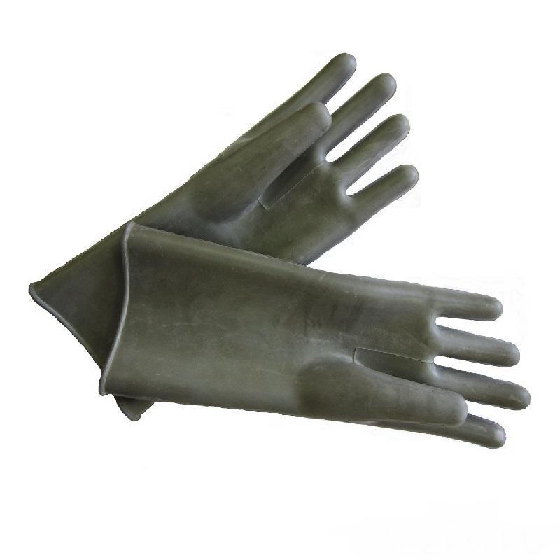 Перчатки  диэлектрические (зеленые)