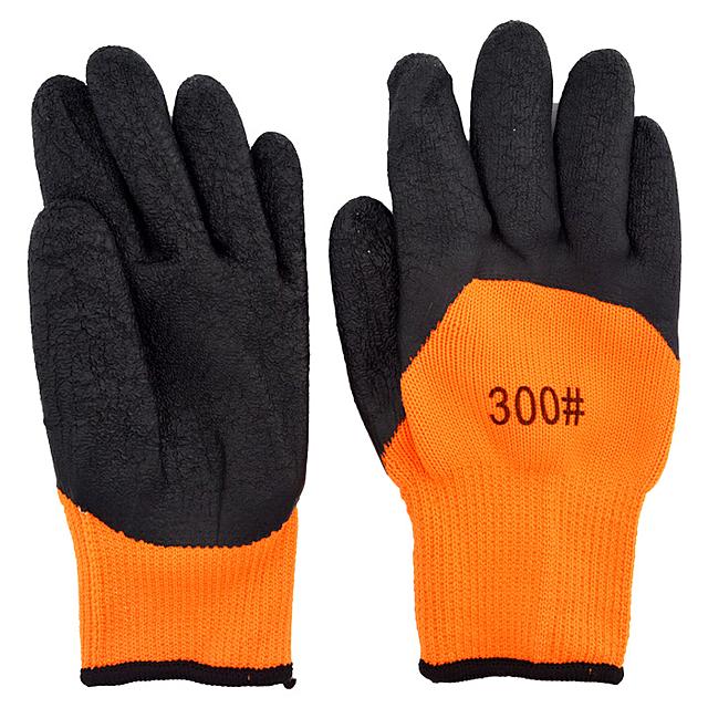 Перчатки х/б прорезинные #300 (prem)