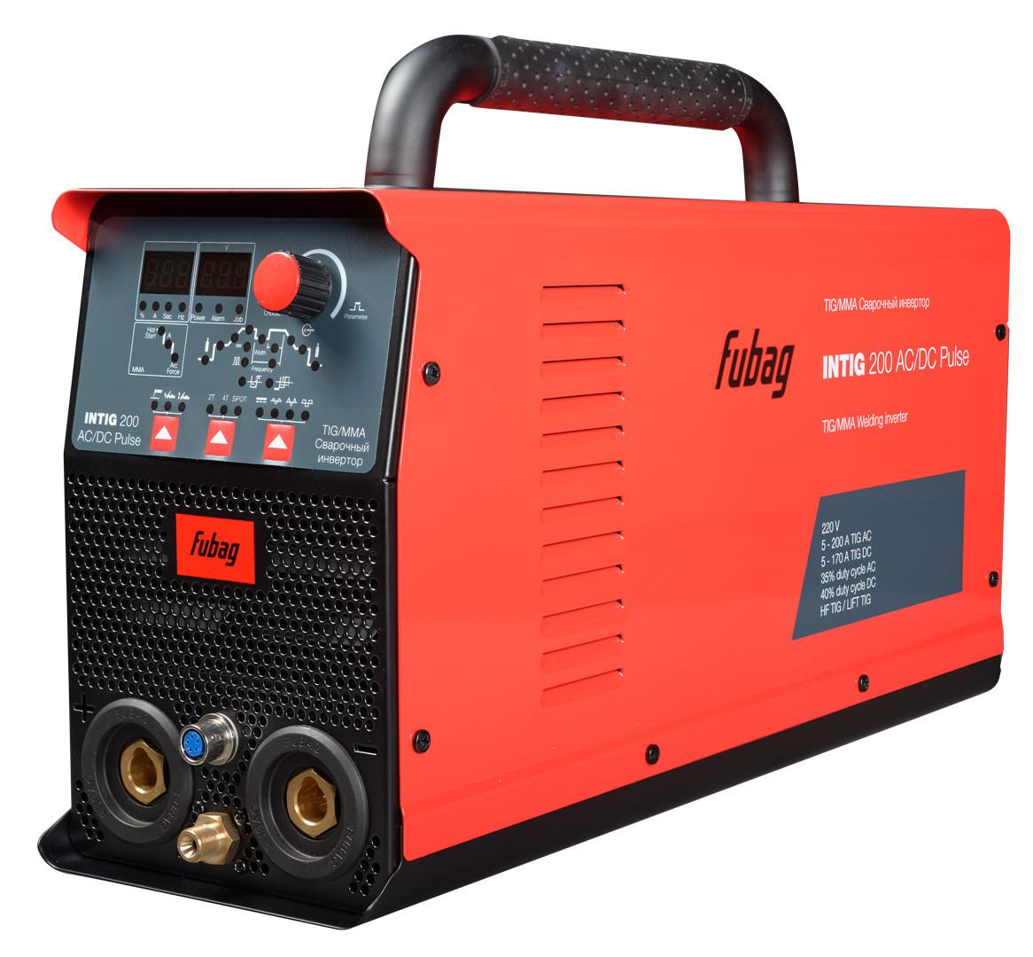 Аппарат аргонодуговой сварки, FUBAG INTIG 200 AC/DC PULSE