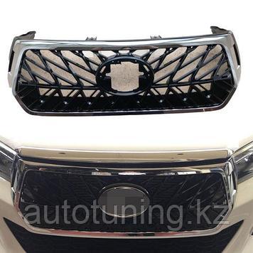 Решетка радиатора на Toyota Hilux Revo Rocco TRD Style c 2019 г. по н.в.
