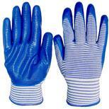 Перчатки нейлоновые Зебра #10