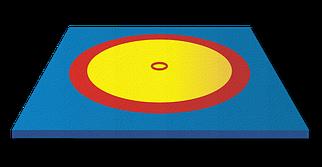 Борцовский ковер 8x8 м (с матами НПЭ 40мм)