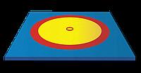 Борцовский ковер 6х6 м (с матами НПЭ 40мм)