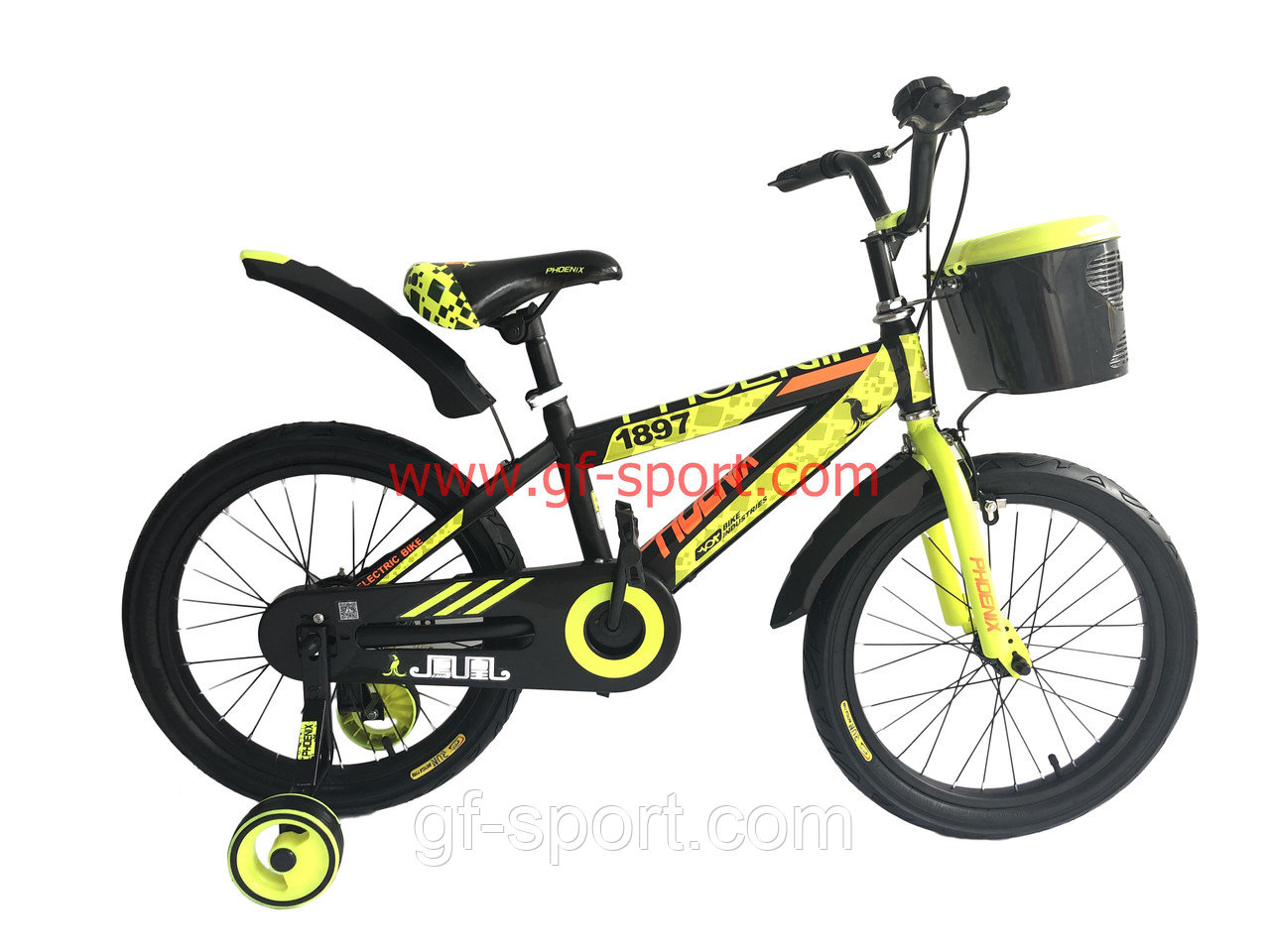 Велосипед Phoenix салалатовый алюминиевый сплав оригинал детский с холостым ходом 18 размер