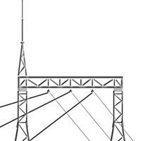 Стальные шинные порталы ПС-110Ш, ПС-110ШС