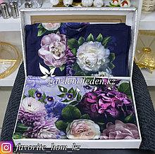 """Столовый набор: скатерть и салфетки, с декором """"Этель"""". Материал: Хлопок. Цвет: Разные цвета."""