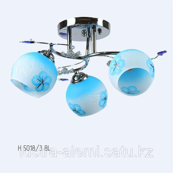 Люстра с Плафоном 5018/3 BLUE